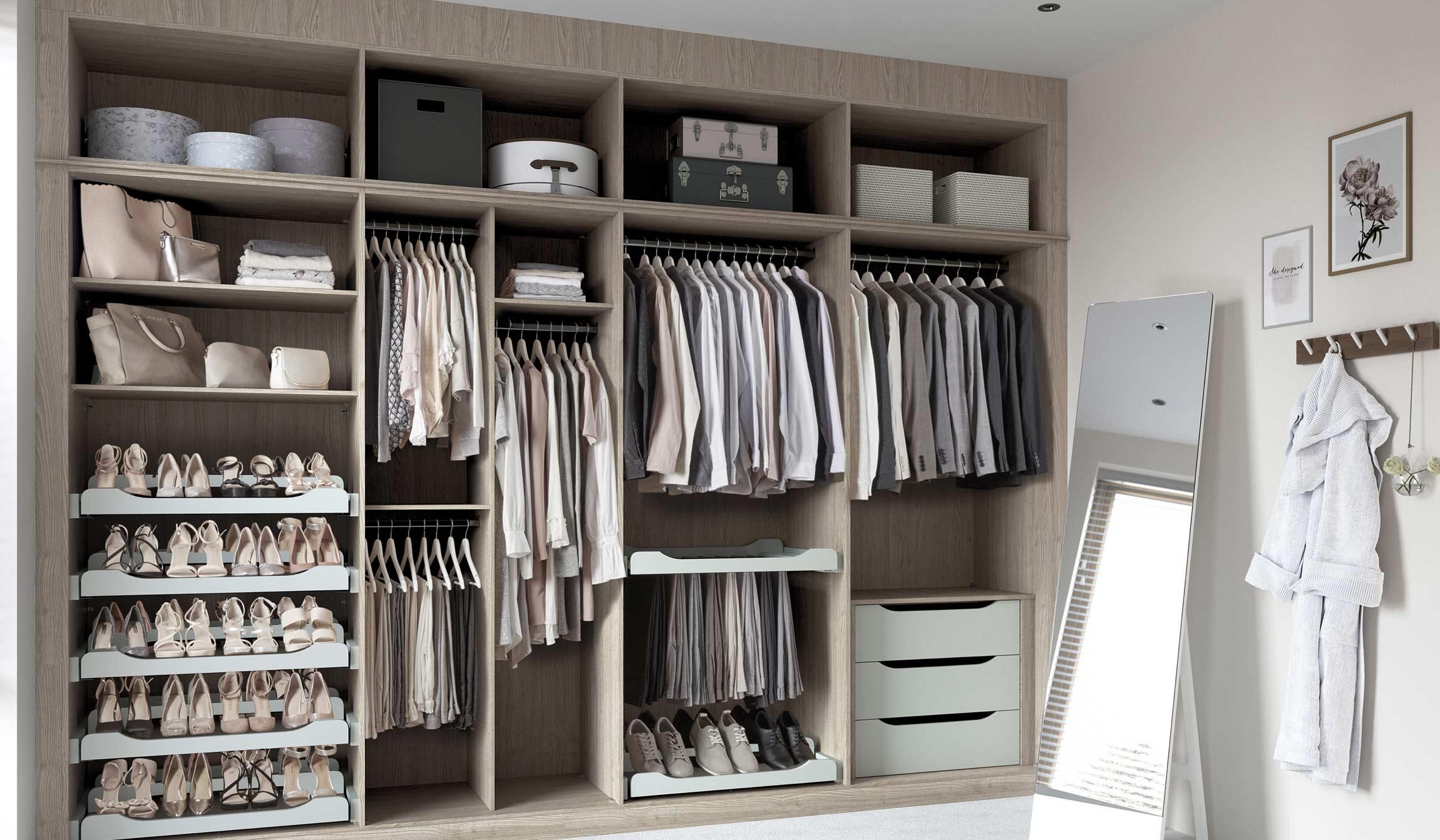 bedroom interior storage solutions