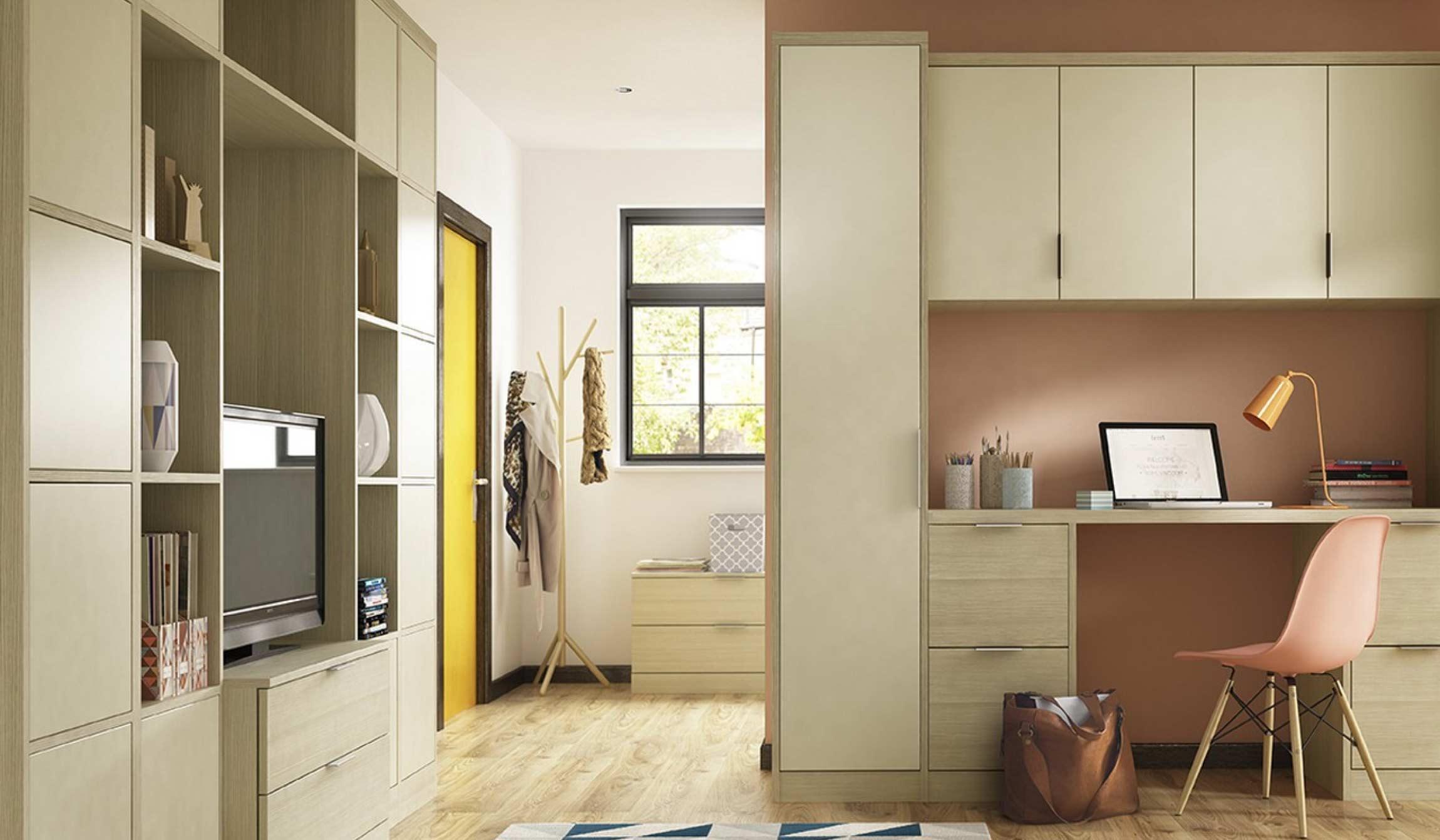 Ergonomically Designed home office