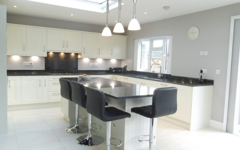 Stylish new kitchen