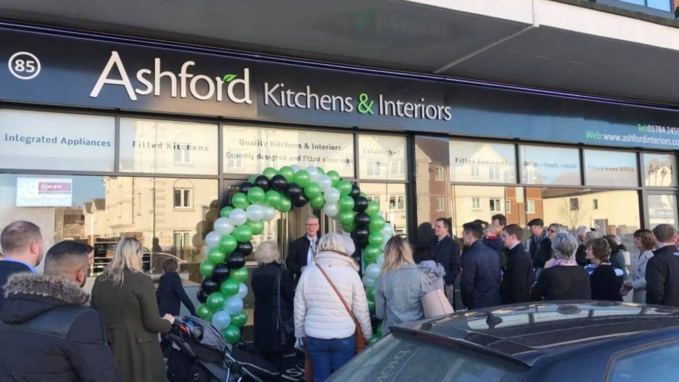 ashford showroom relaunch