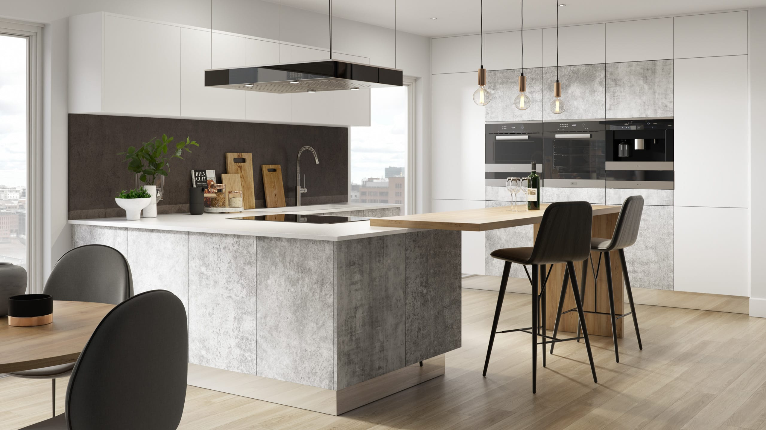 Bellato Grey - contemporary kitchen