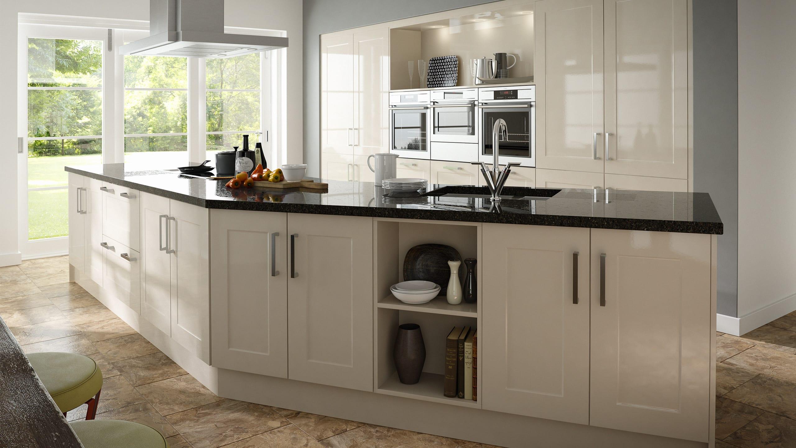 Gloss Stone Shaker - kitchen