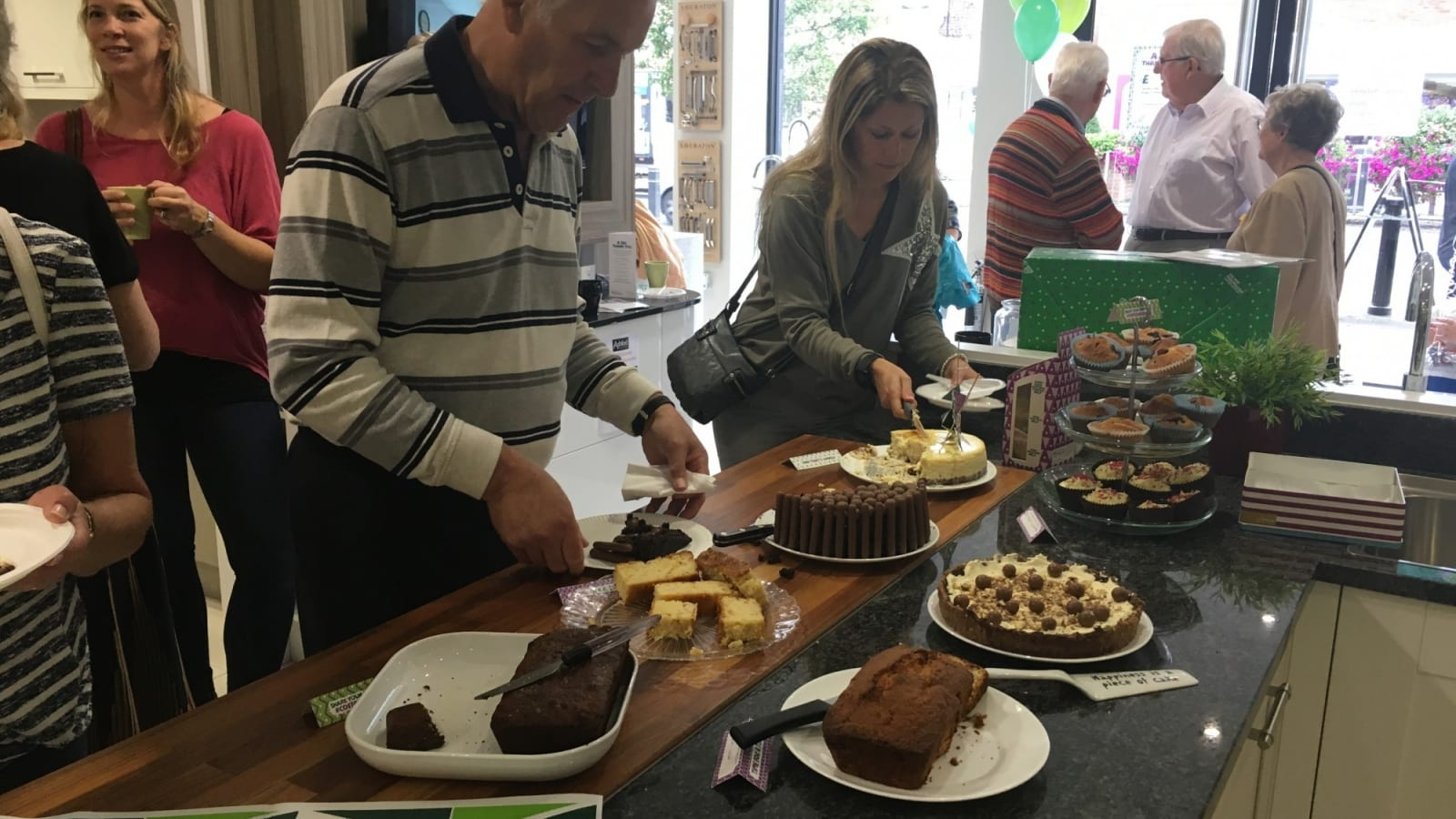 Macmillan Coffee Morning, Farnham Common