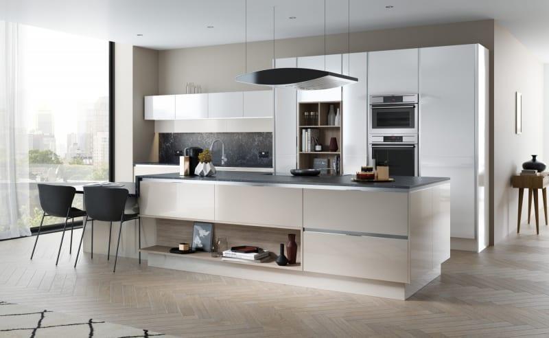 Inset Mattonella Gloss Cashmere - kitchen