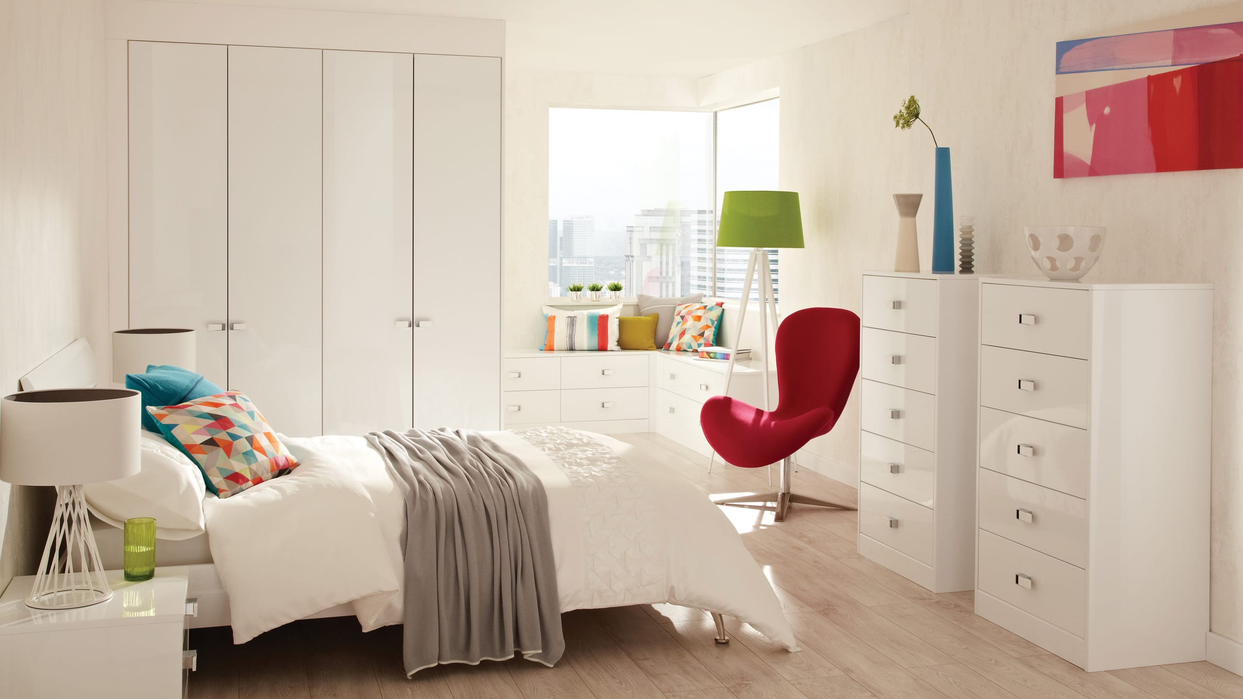 Lustro Frost Gloss - bedroom