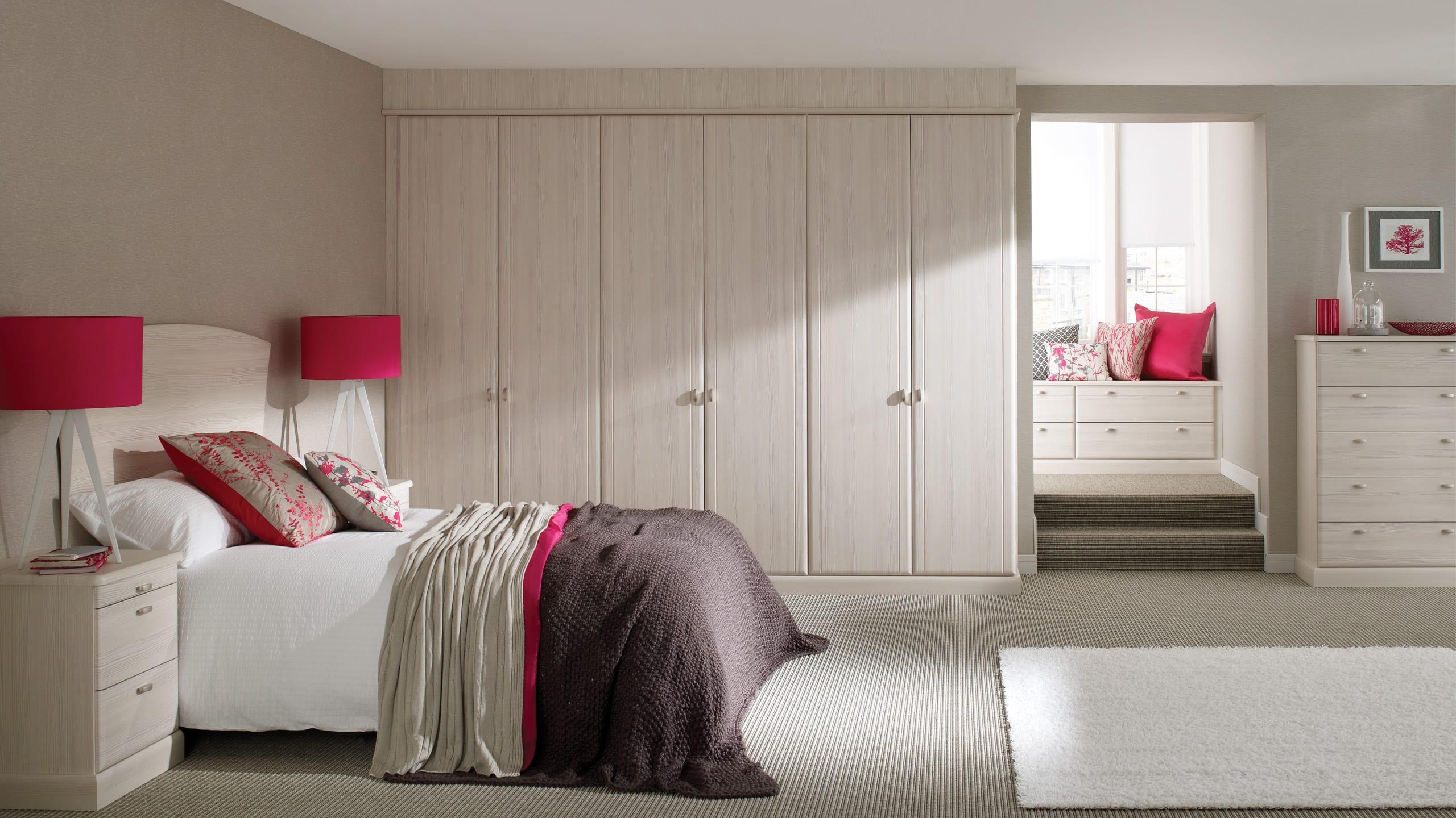 Milan Avola White - bedroom