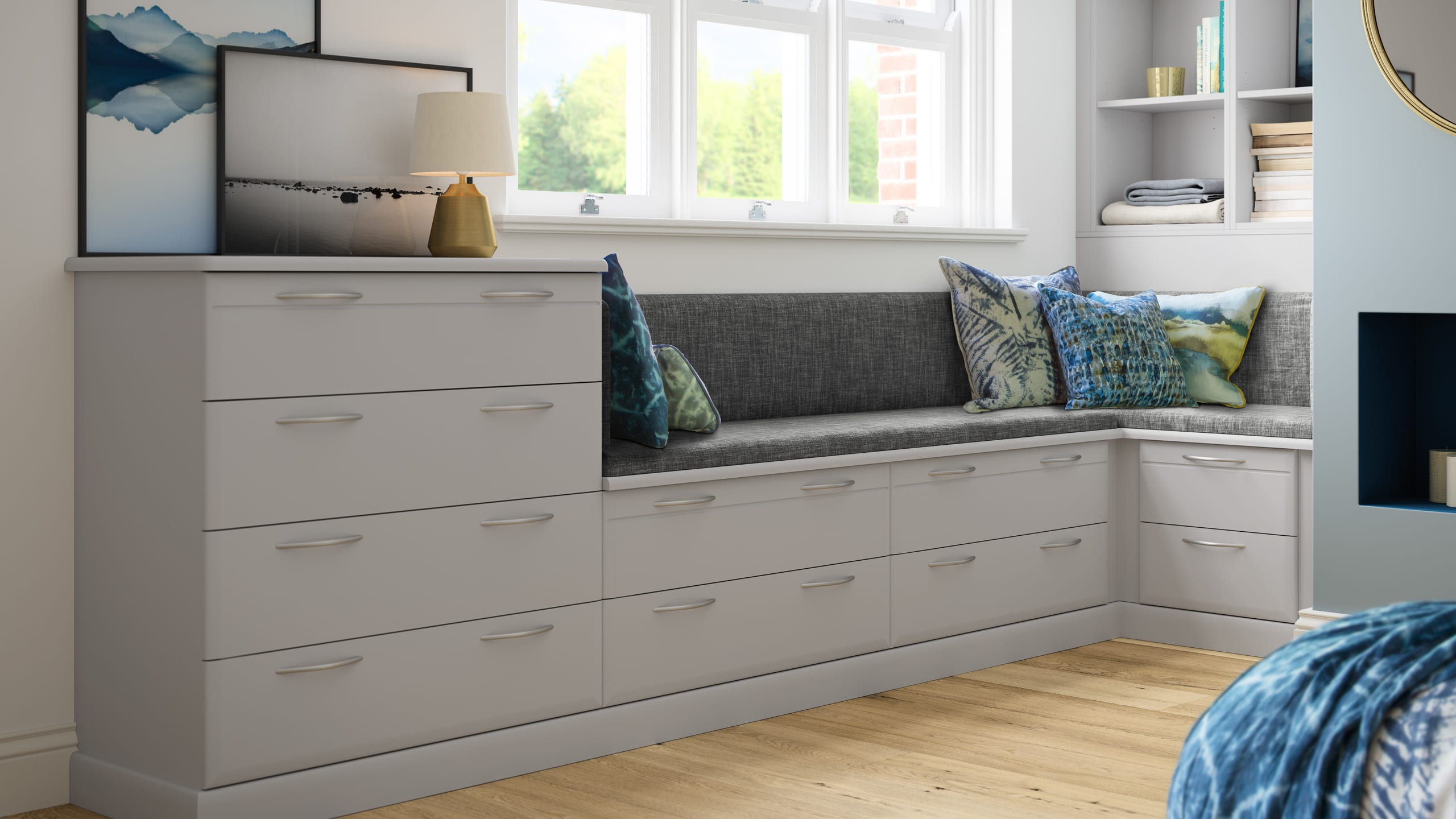 Milan Light Grey - bedroom