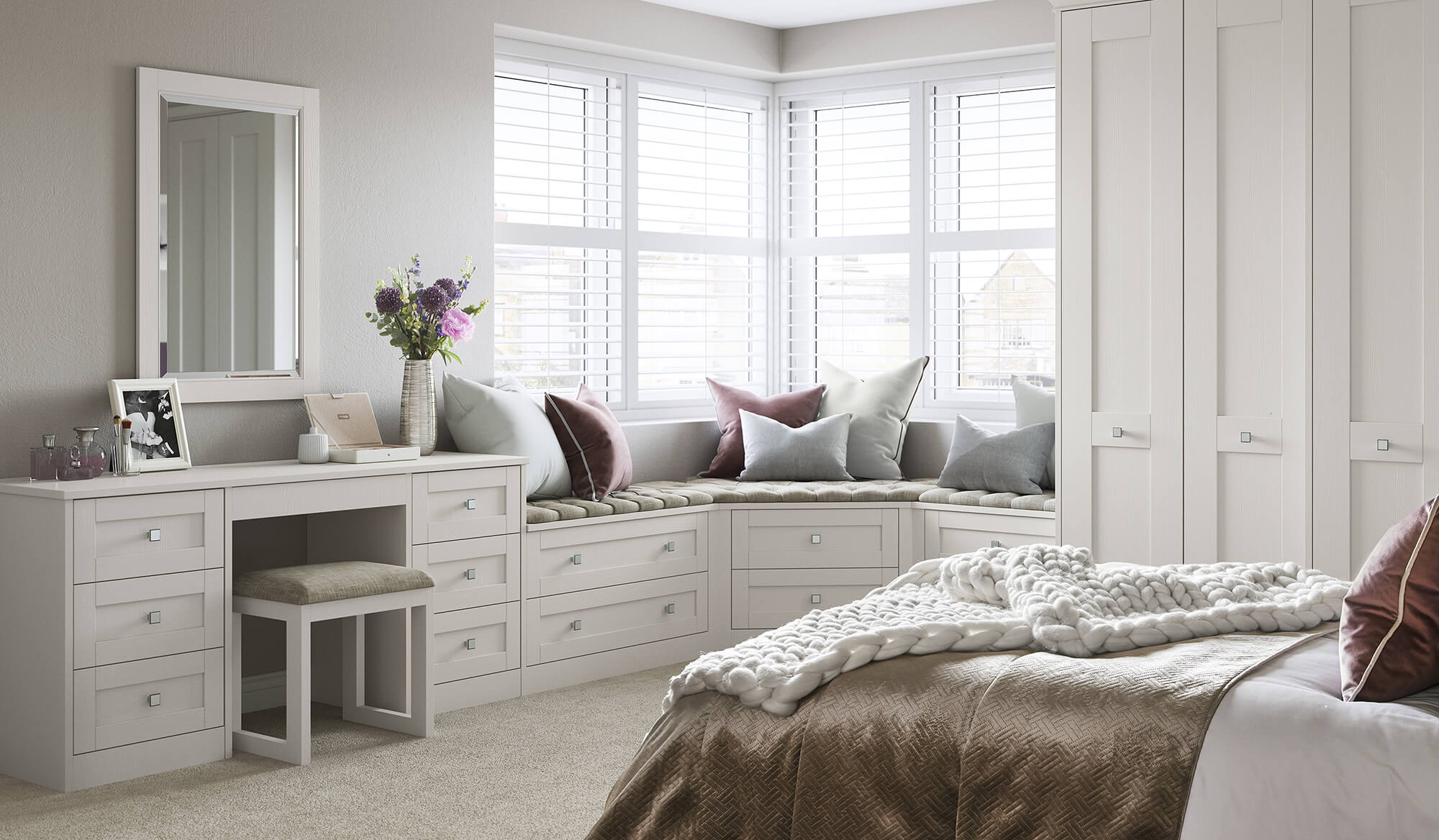 luxury bespoke bedroom