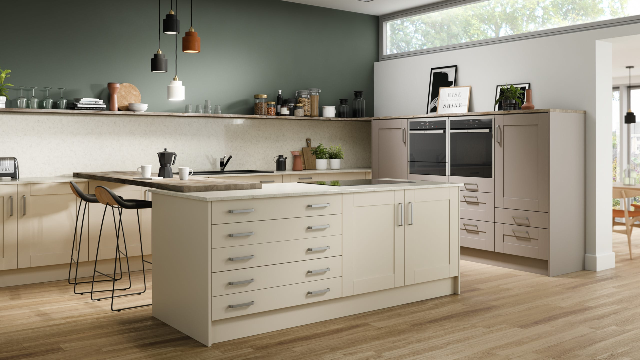 Painted Ivory - Cashmere - kitchen