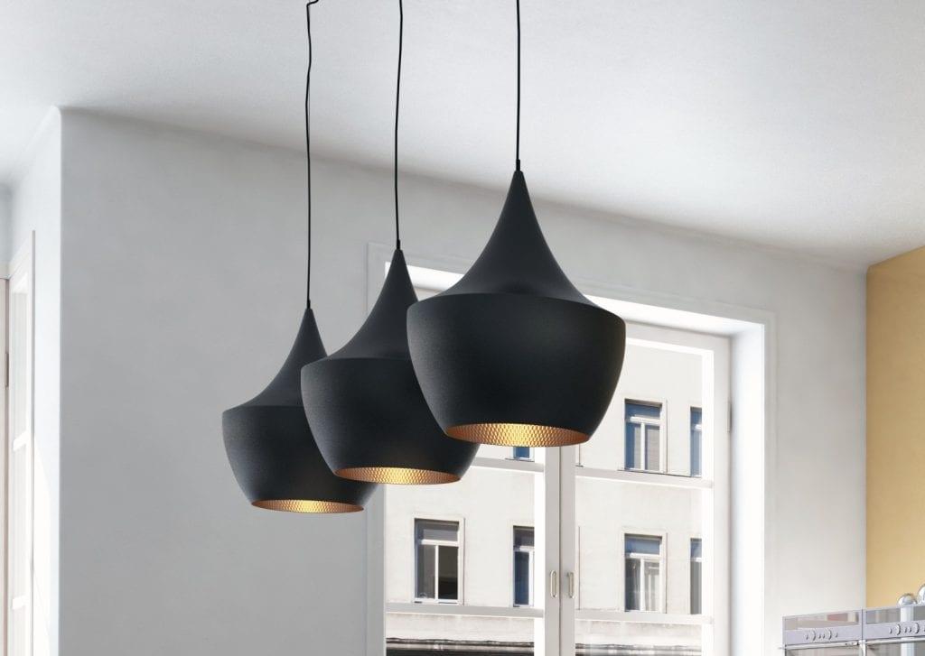 3 Pendant lighting for the kitchen.