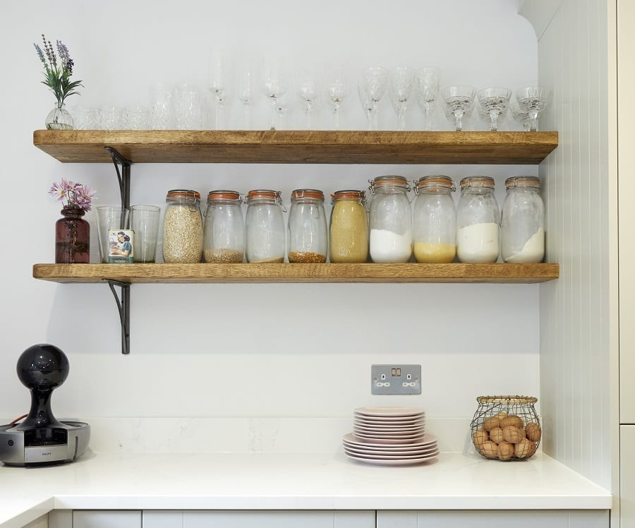 Plaskett Fulmer Open Floating Shelving by Ashford Kitchens & Interiors