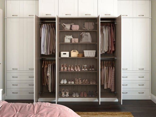 Fitted Wardrobe Interior Drawers